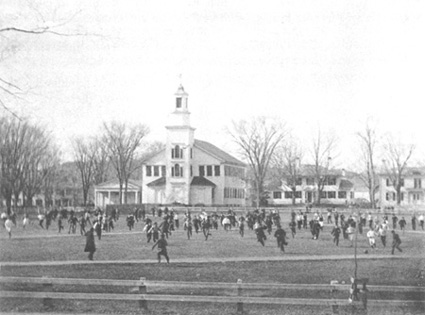 Old Division Football at Dartmouth