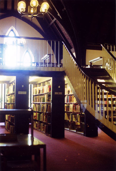 Haverford College library interior