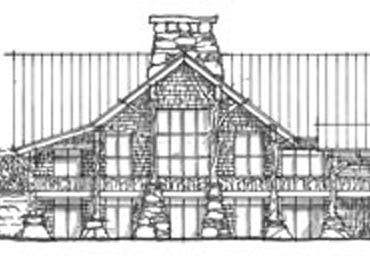 detail of Maclay drawing of MRL facade
