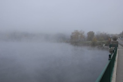 Connecticut River from Ledyard Bridge, 2008