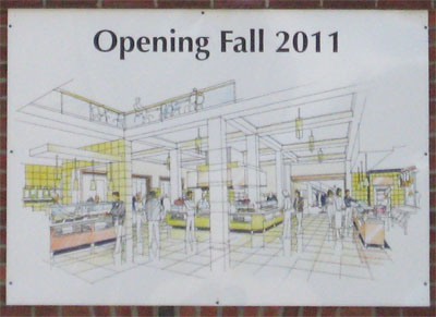 53 Commons interior rendering posted on Thayer Hall