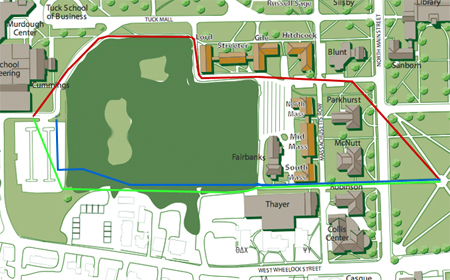 Meacham map of proposed Westway
