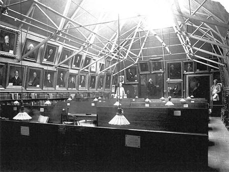 Wilson historic interior