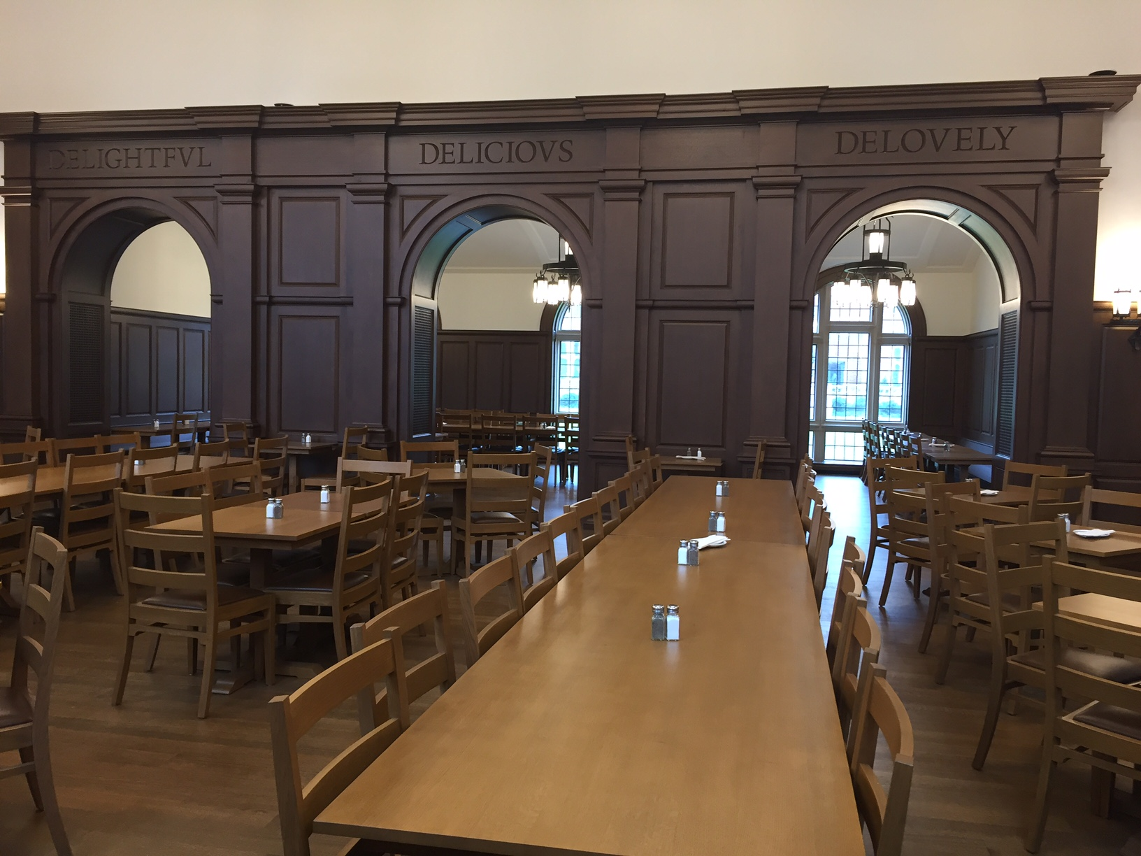 Brian Meacham interior photo Yale new college