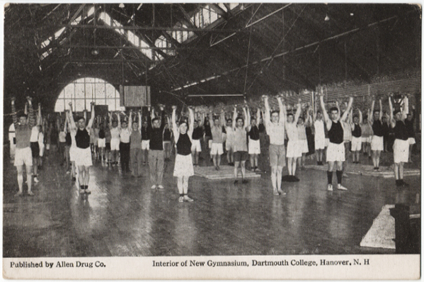 old photo of gym