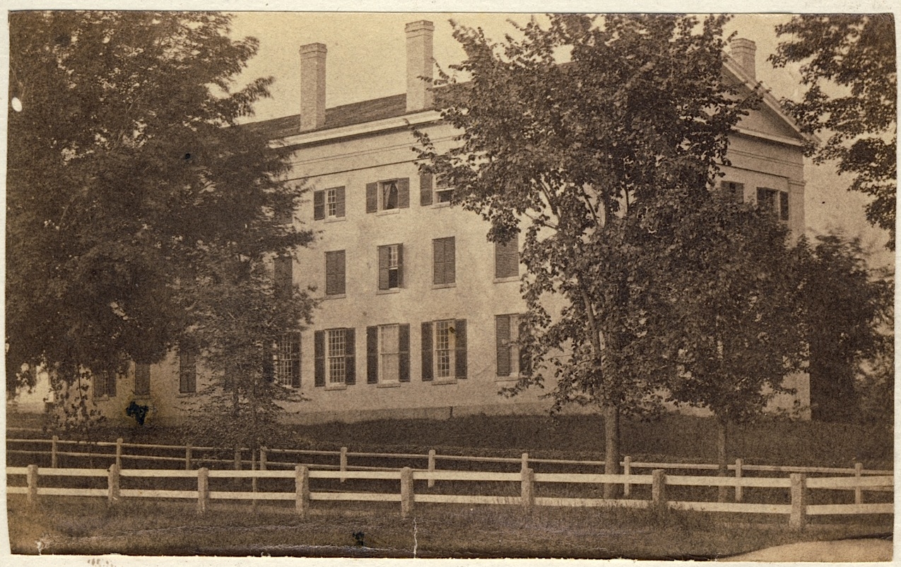 Reed Hall before 1870, author's collection