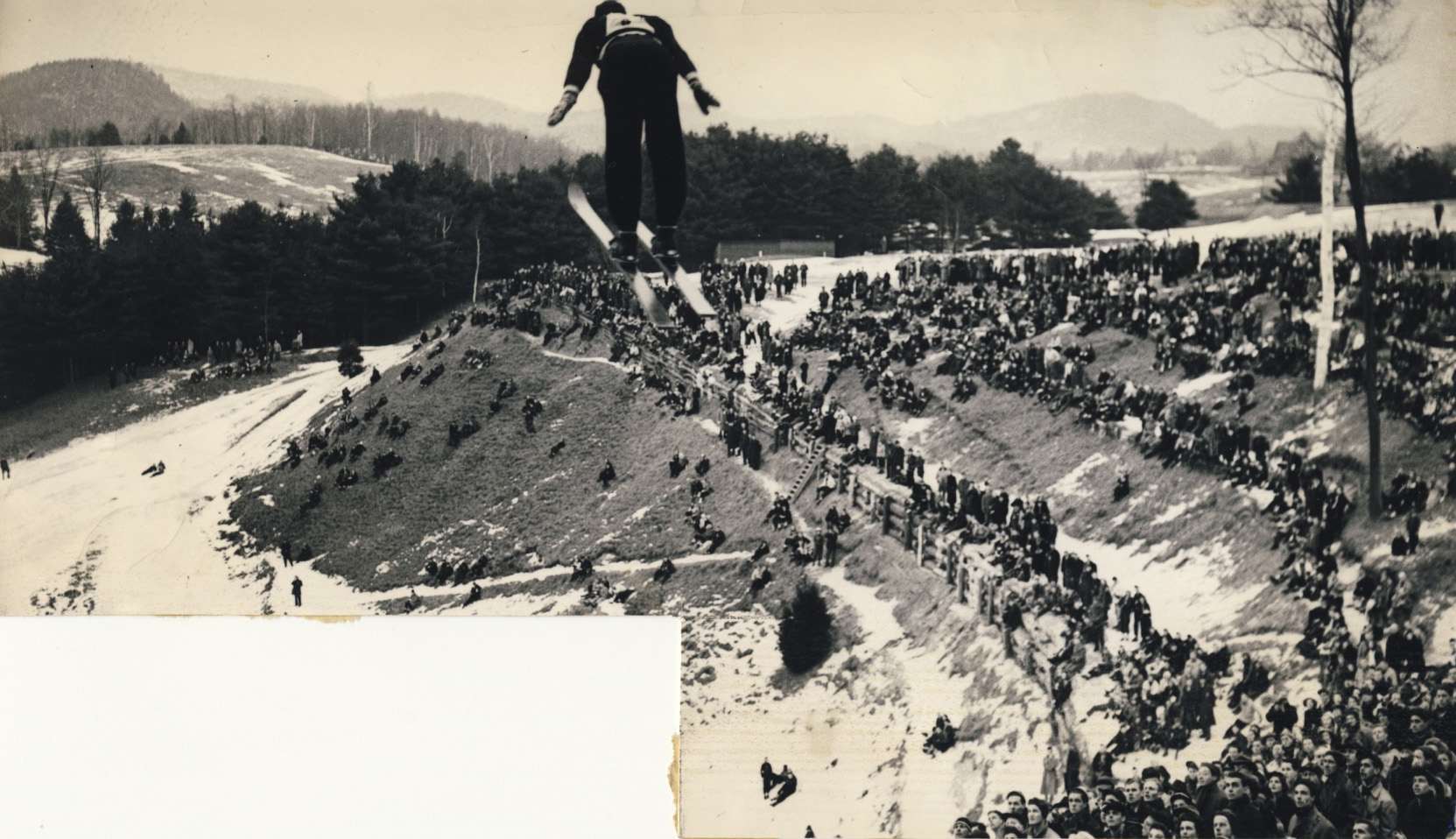 Warren Chivers at the 1938 Winter Carnival