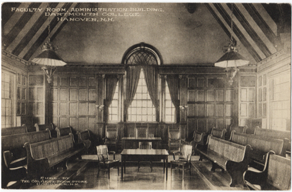 Faculty Room historic image